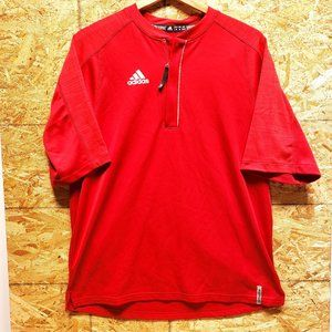 ADIDAS Climalite Polo Red - M